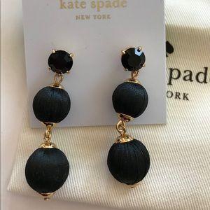 Kate Spade Linear Graduated Ball Earrings
